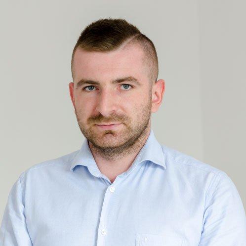 Nikodem Goraj Dyrektor Działu Biznesowegow BKR fINANCE