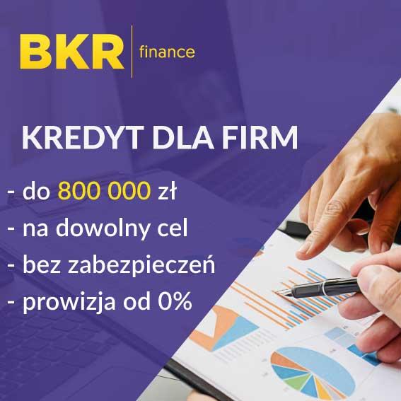 Kredyt dla firm na dowolny cel i bez prowizji