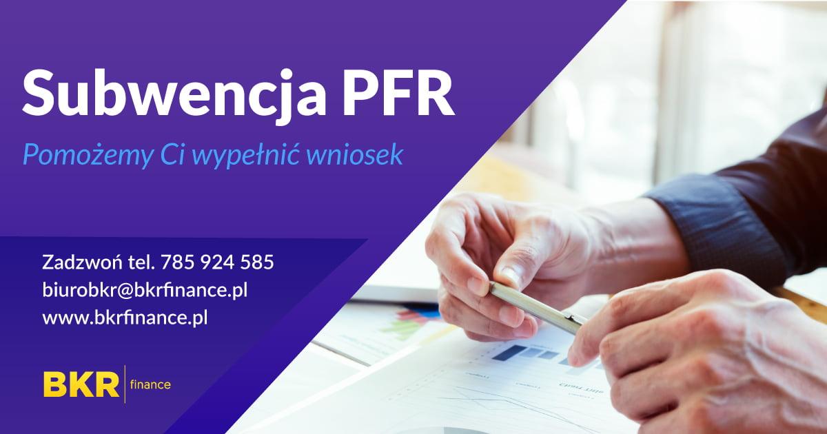 Wniosek do PFR o dofinansowanie dla firmy - wypełnij go z pomocą doradcy.
